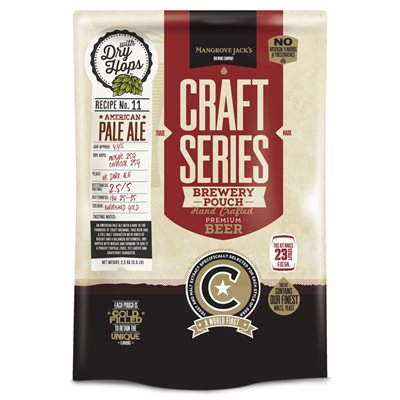 Mangrove Jack's Craft Series: Pale Ale w Dry Hops