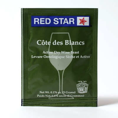 Cote de Blanc Wine Yeast, 5 gm