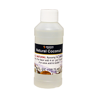 Coconut Flavoring Extract 4 oz
