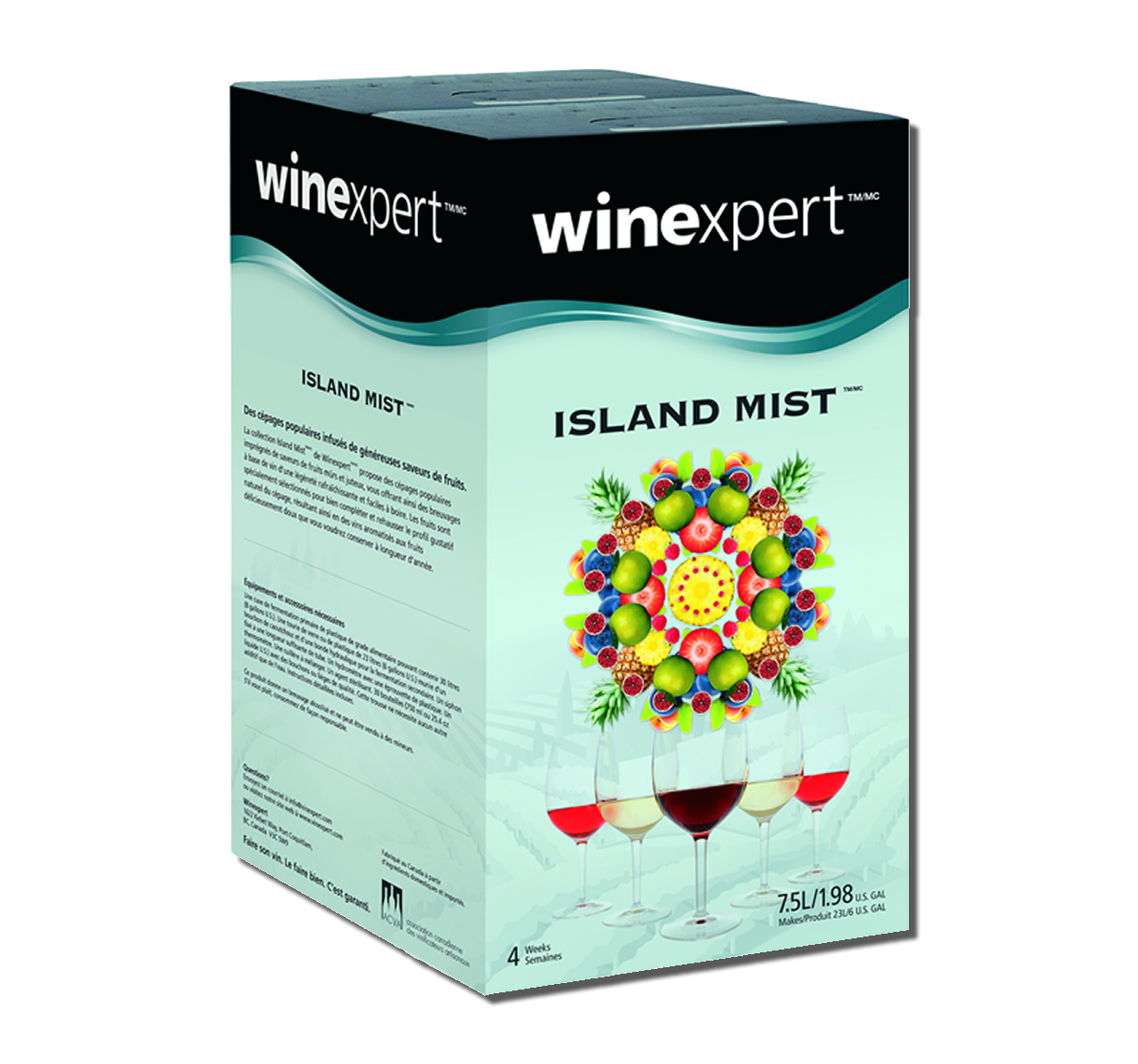 Island Mist Apple Berry Syrah 7.5L Wine Kit