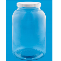 Wide Mouth Jars, 1 Gallon Glass Jug