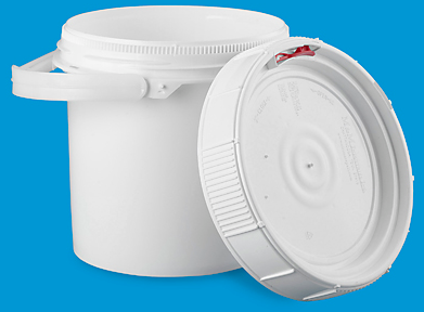 2.5 Gallon Bucket with Screw Lid