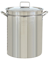 40Qt Stainless Steel Brew Pot with Lid