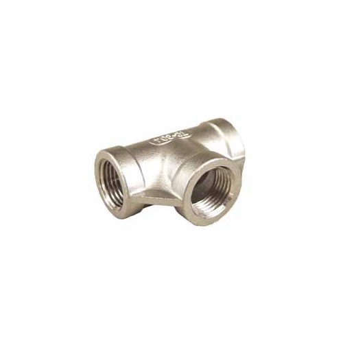 "1/2"" FPT Tee Stainless Steel"