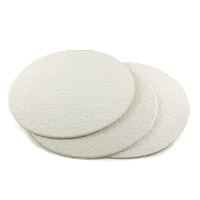 "Round 8.75"" Filter Pad Coarse, Set of 2"