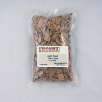 Oak Chips (Light Toast), 4oz