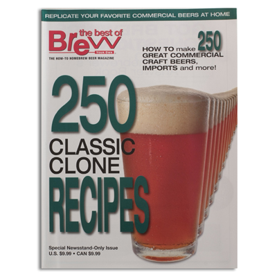 250 Classic Clone Recipes from BYO Magazine