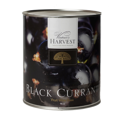 Vintner's Harvest Black Currant  Wine Base, 96 oz
