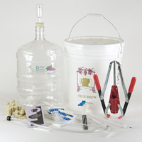 Wine Equipment Kit with 6 Gallon PET