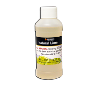 Lime Flavoring Extract, 4oz