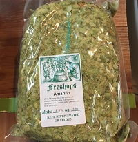 Amarillo Whole Flower Hops, 1lb