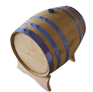 20L Used Whiskey Barrel