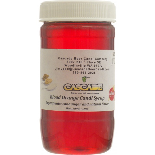 Candi Syrup Blood Orange