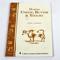 Making Cheese, Butter or Yogurt Book