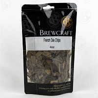 French Oak Chips, Medium, 4 oz