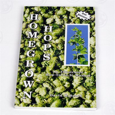 Home Grown Hops Book by Beach