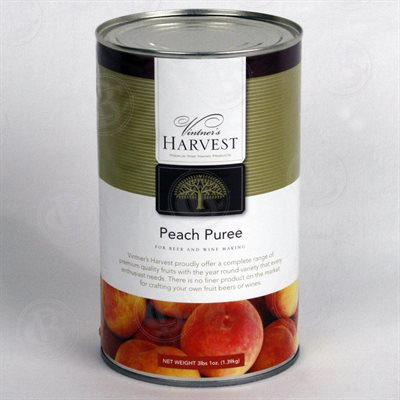 Vintner's Harvest Peach Puree, 49 oz