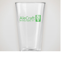 AleCraft Pint Glass, 16oz