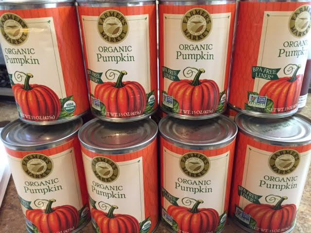 Organic Pumpkin Puree, 15 oz