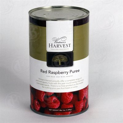 Vintner's Harvest Raspberry Puree, 49 oz
