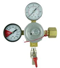 Regulator CO2 Double Gauge