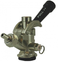 "Sanke Keg Tap ""D"" Coupler with Handle"