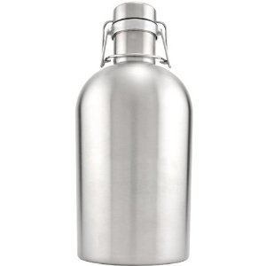 Stainless Steel Growler, 64oz