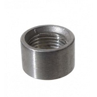 Stainless Half Coupler, 1/2""
