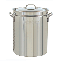 15.5 Gallon Stainless Steel Pot, 62 Quart