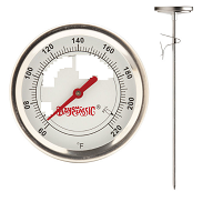 "12"" Thermometer, Stainless Steel"